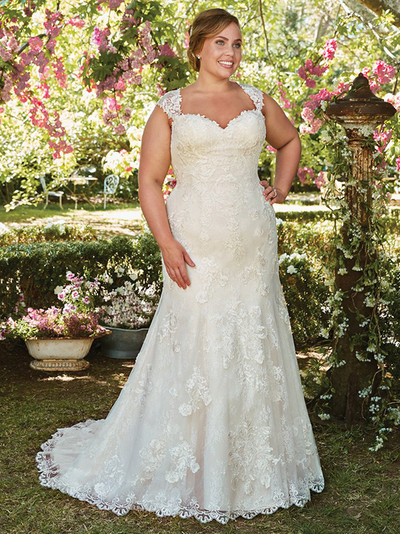 Rebecca Ingram Wedding Dress Brenda 7RS303 Plus Main
