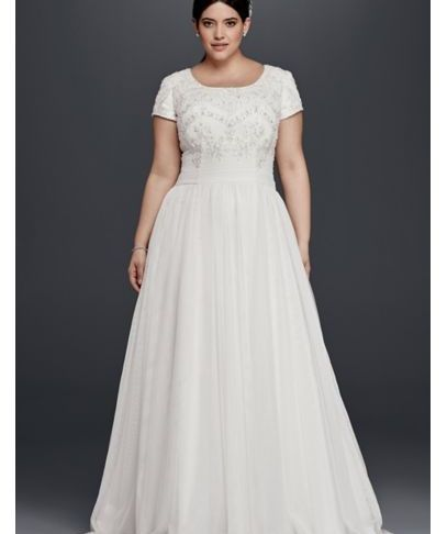Plus Size Short Wedding Dresses with Sleeves Best Of Modest Short Sleeve Plus Size A Line Wedding Dress Style