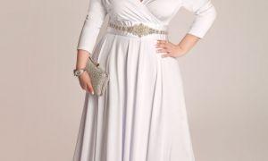 20 Beautiful Plus Size Summer Wedding Dresses