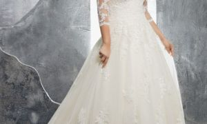 28 Lovely Plus Size Wedding Dresses Under 100