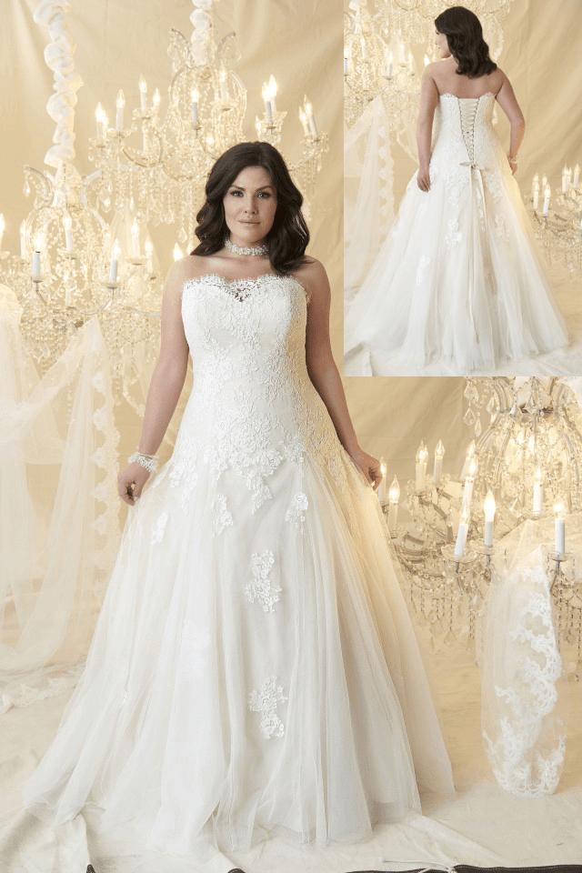 Plus Size Wedding Dresses with Color Fresh Plus Size Bridal Collection Crush