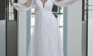 28 Awesome Plus Size Wedding Dresses with Sleeves