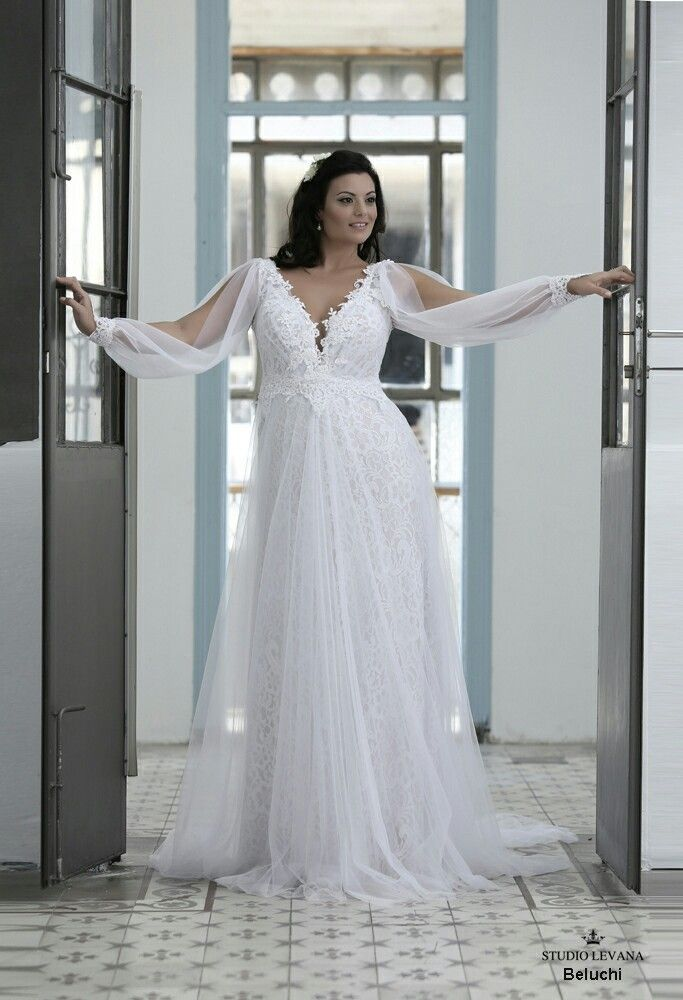 Plus Size Wedding Dresses with Sleeves Best Of Full Lace and Tulle Plus Size Wedding Gown with Unique