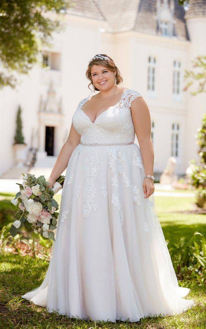 Plus Size White Dresses for Wedding Beautiful Brautkleider Für Mollige Das Sind Schönsten Plus Size