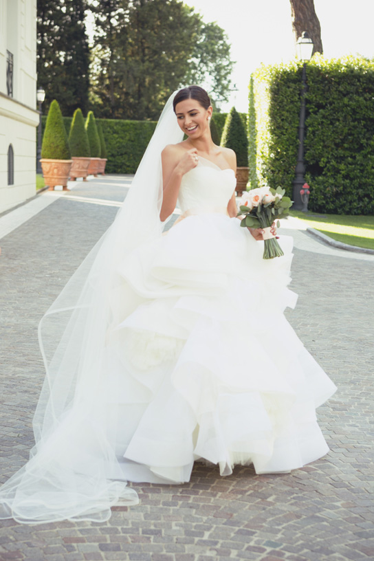 Preowned Wedding Dresses Reviews Best Of Vera Wang Katherine Real Wedding Inspiration