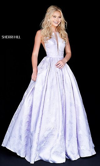 lilac dress SH a