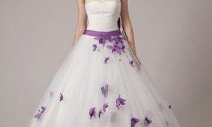 24 Lovely Purple Wedding Dresses for Sale