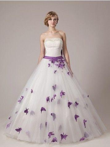 Purple Wedding Dresses for Sale Best Of Dream Purple butterfly A Line Wedding Dress Online Bride