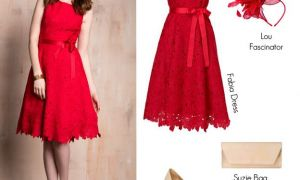 30 Lovely Red Dresses to Wear to A Wedding