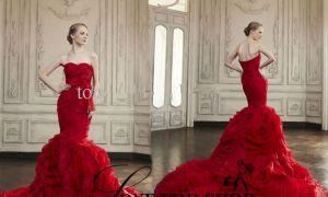 27 Best Of Red Mermaid Wedding Dresses