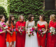 Red Wedding Dresses Meaning Elegant these Mismatched Bridesmaid Dresses are the Hottest Trend