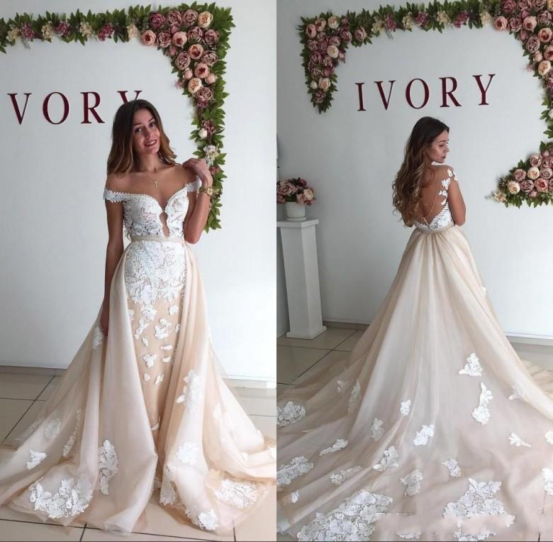 2018 cheap arabic wedding dresses a line