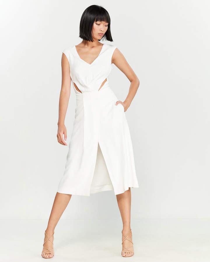 Roberto Cavalli Cutout Sleeveless Dress