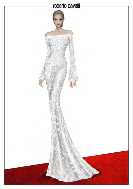 Kerry Washington Scandal 2017 SAG Awards Red Carpet Fashion Roberto Cavalli Couture Tom Lorenzo Site 8