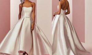 24 Fresh Rose Color Wedding Dresses