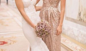 27 New Rose Gold Wedding Gown