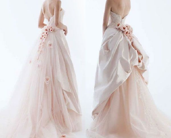 Rose Pink Wedding Dress Lovely Wedding In Color by Rs Couture Fairytale In 2019