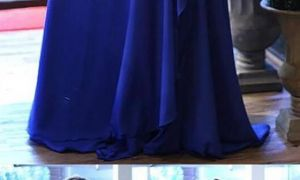 22 Lovely Royal Blue Wedding Dresses Plus Size