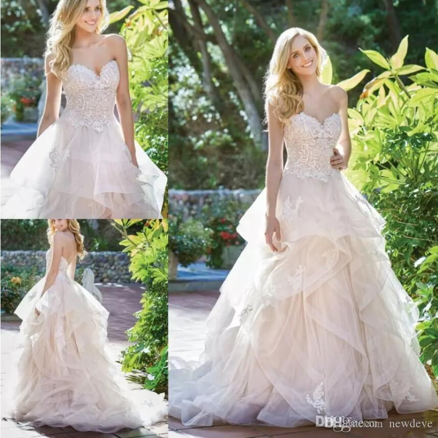 jasmine 2019 a line wedding dresses sweetheart