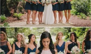 24 Lovely Rustic Wedding Bridesmaid Dresses