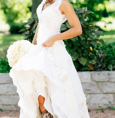 Rustic Wedding Dresses with Boots Luxury Pin On Wedding Ideas