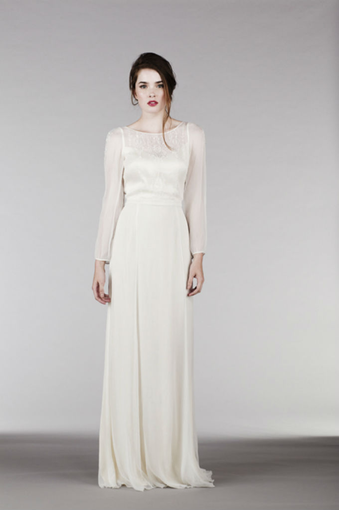 Long Sleeve Wedding Dress by Saja Wedding for