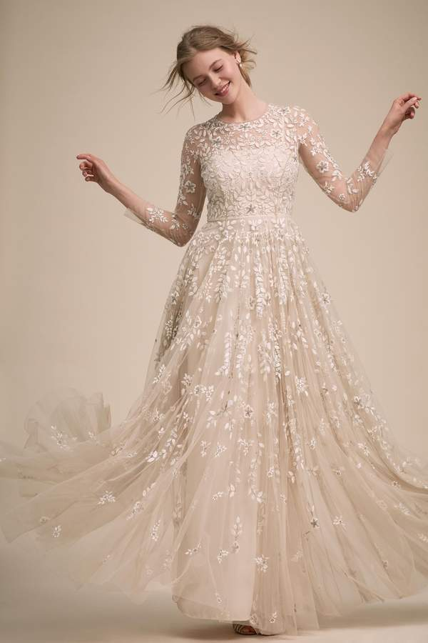 BHLDN Golden Hour Gown