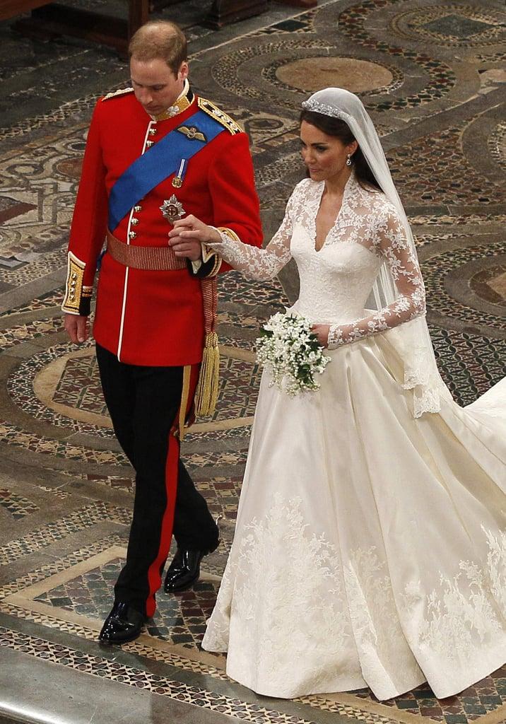 Close Ups Kate Middleton Alexander McQueen Wedding Dress Sarah Burton