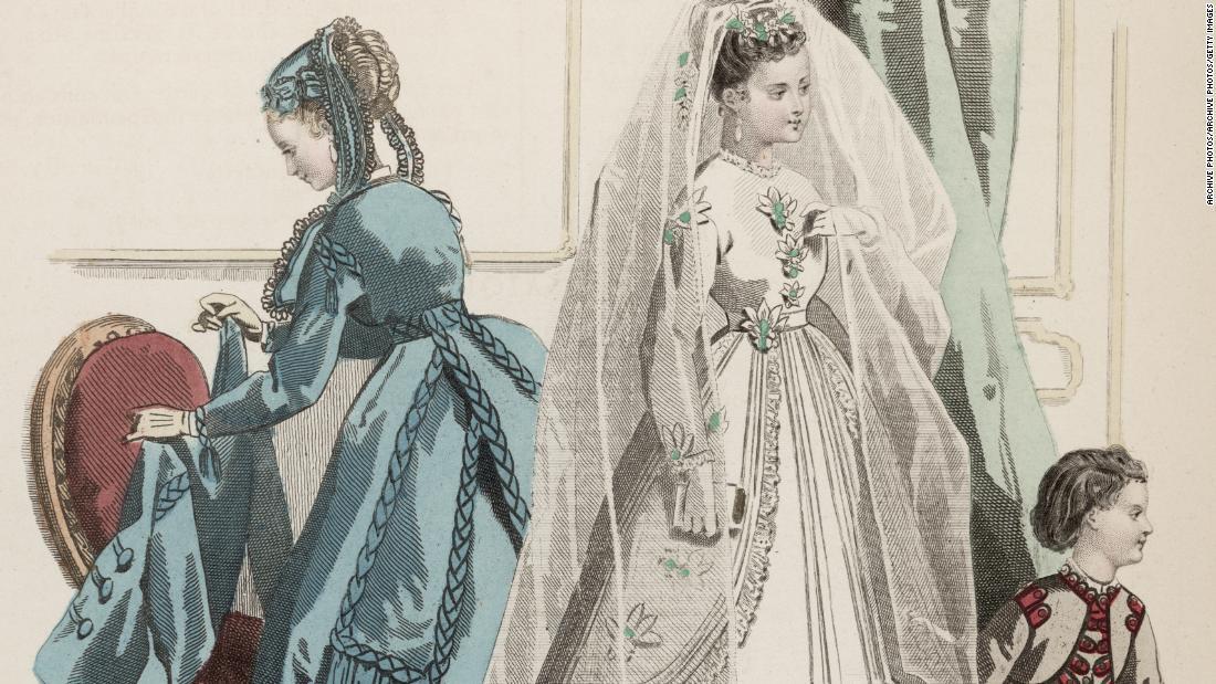 white wedding dress journal des demoiselles super 169