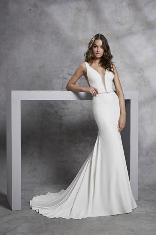 Satin A Line Wedding Dresses Elegant Victoria Jane Romantic Wedding Dress Styles
