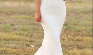 25 Beautiful Satin Trumpet Wedding Dresses