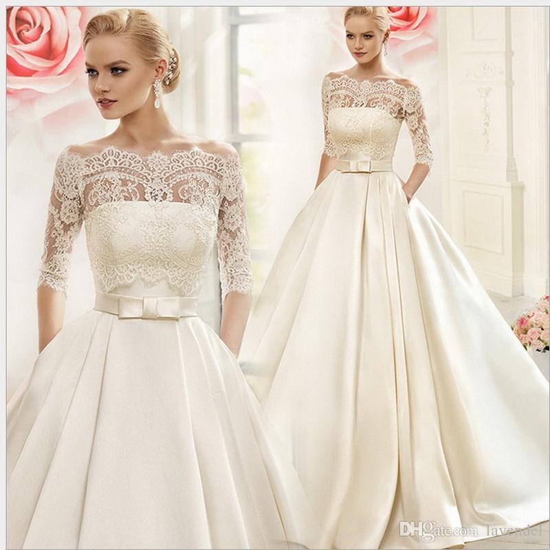 princess cut wedding dress 2018 princess ball gown satin wedding dress with lace wrap f elegant