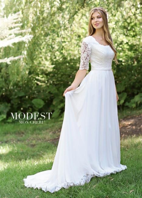 modest bridal by mon cheri tr scoop neckline wedding gown 01 273