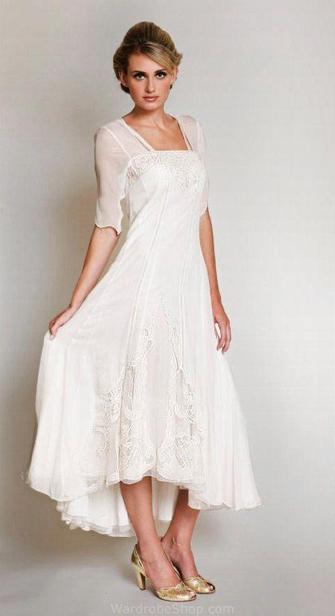 Second Wedding Dress Ideas Lovely Romantic Vintage Weddings