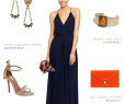 Semi formal Dresses for Wedding Guest New Navy Maxi Dress for Bridesmaids
