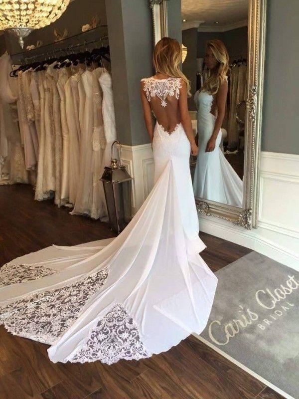 Sexy Back Wedding Dresses Lovely Sweetheart Sleeveless Backless Y Wedding Dress