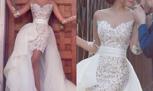 26 Luxury Sexy Short Wedding Dresses