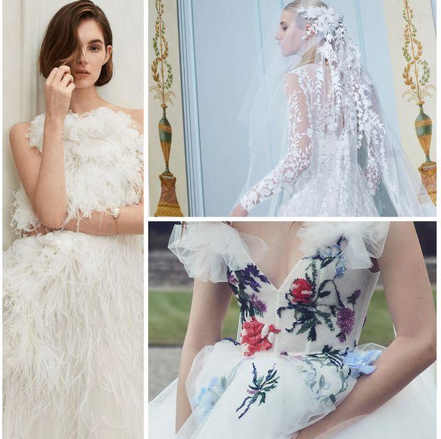 "Short Blue Wedding Dress Beautiful Wedding Dress Trends 2019 the ""it"" Bridal Trends Of 2019"