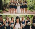 Short Blue Wedding Dress Inspirational Mix and Match Navy Blue Bridesmaids