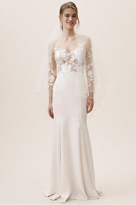Short Blue Wedding Dress Lovely Spring Wedding Dresses & Trends for 2020 Bhldn