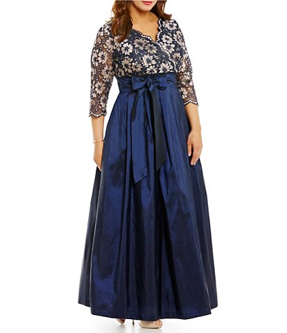 Short Blue Wedding Dress Luxury Plus Size Mother Of the Bride Dresses & Gowns
