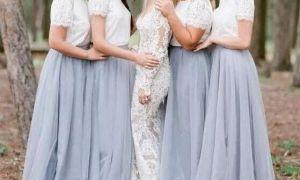 21 Fresh Short Blue Wedding Dresses