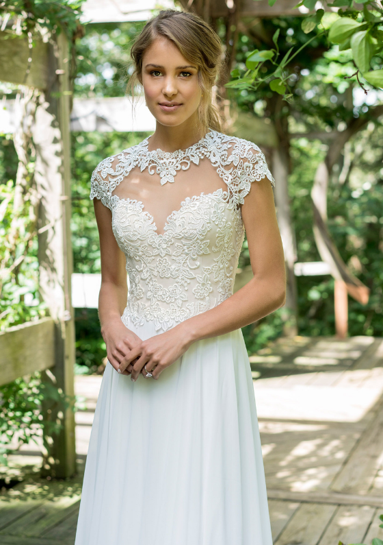Short Chiffon Wedding Dresses Unique Lace Wedding Dresses We Love