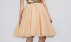 20 Awesome Short Gold Dresses for Wedding