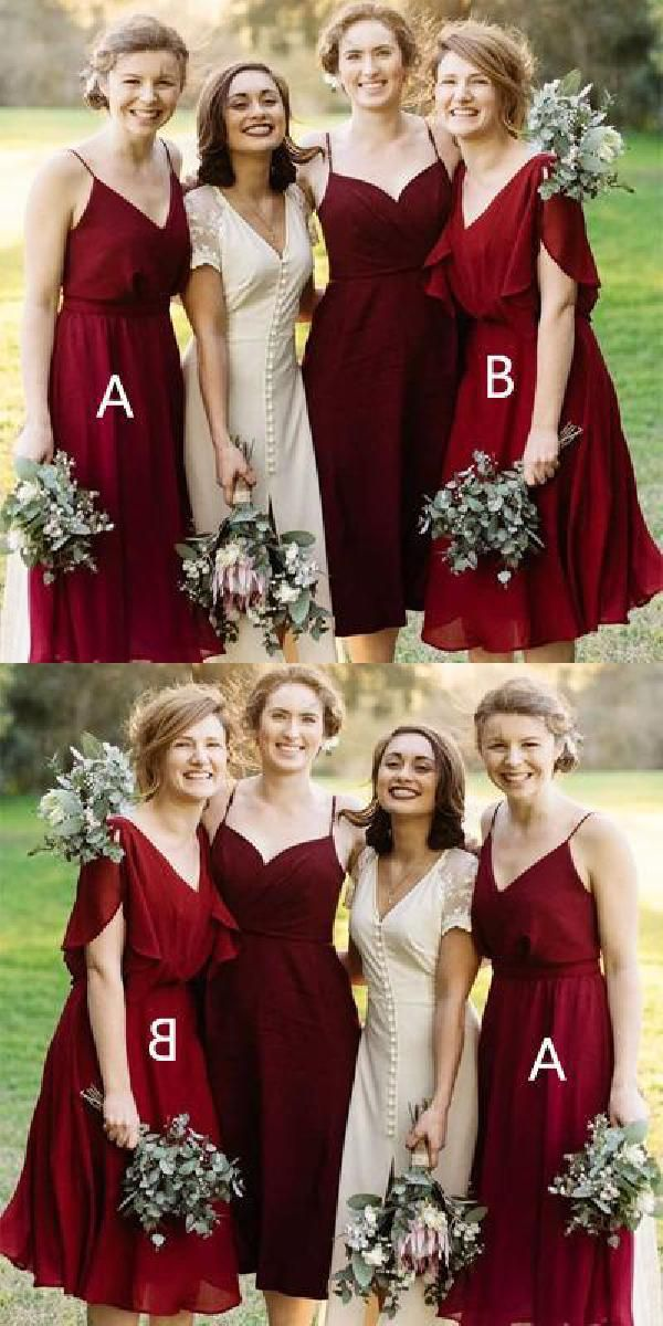 Short Red Bridesmaids Dresses Fresh Cheap Nice Red Bridesmaid Dresses Bridesmaid Dresses