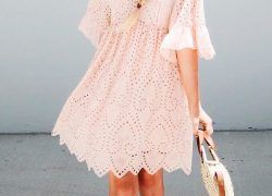 20 Beautiful Short Sleeve Dresses for Wedding Guests