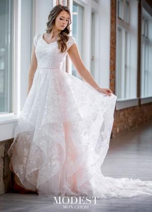 modest bridal by mon cheri tr cap sleeve bridal dress 01 681