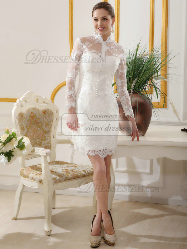 long sleeve vintage wedding dress design in accord with lace sleeve wedding dresses