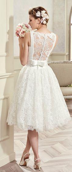 Short White Lace Wedding Dress Beautiful Short Wedding Dress Coab