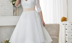 25 Best Of Short White Wedding Dresses Plus Size
